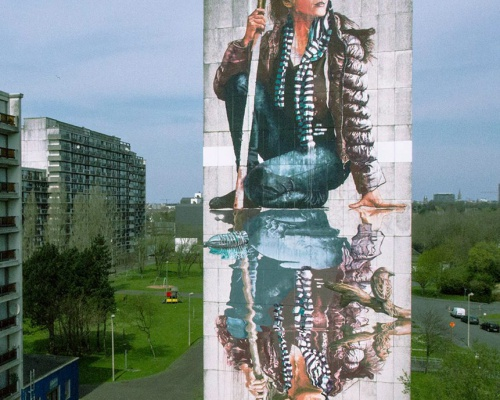 Fintan Magee at Crystal Ship Festival, Ostend, Belgium
