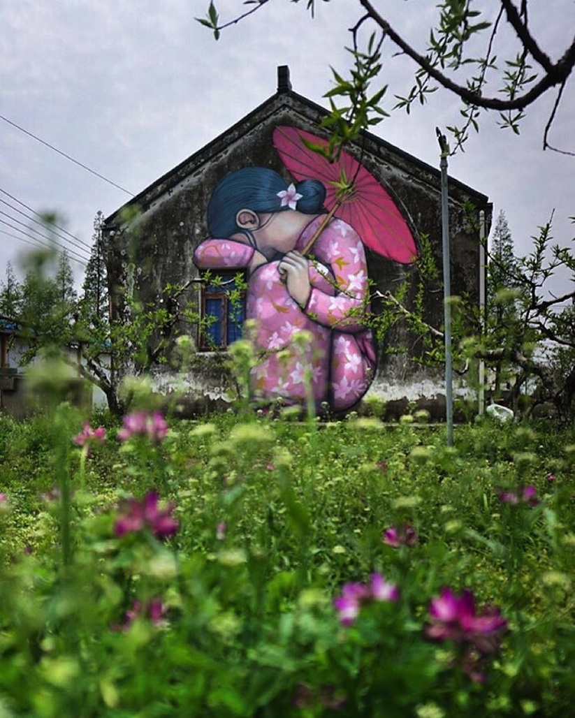 French Artist painting China Walls - SETH GLOBEPAINTER - the vandallist (6)