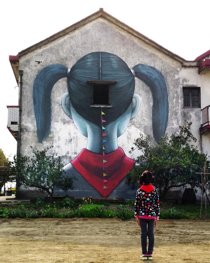 French Artist painting China Walls - SETH GLOBEPAINTER - the vandallist (7)