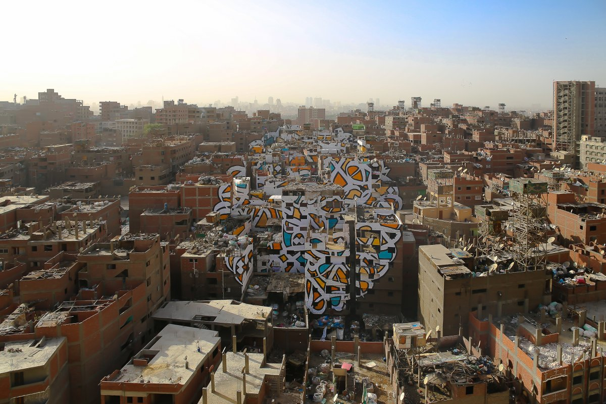 IN A CENSORED CAIRO MURAL BRINGS HOPE TO ITS ARTIST - the vandallist (7)