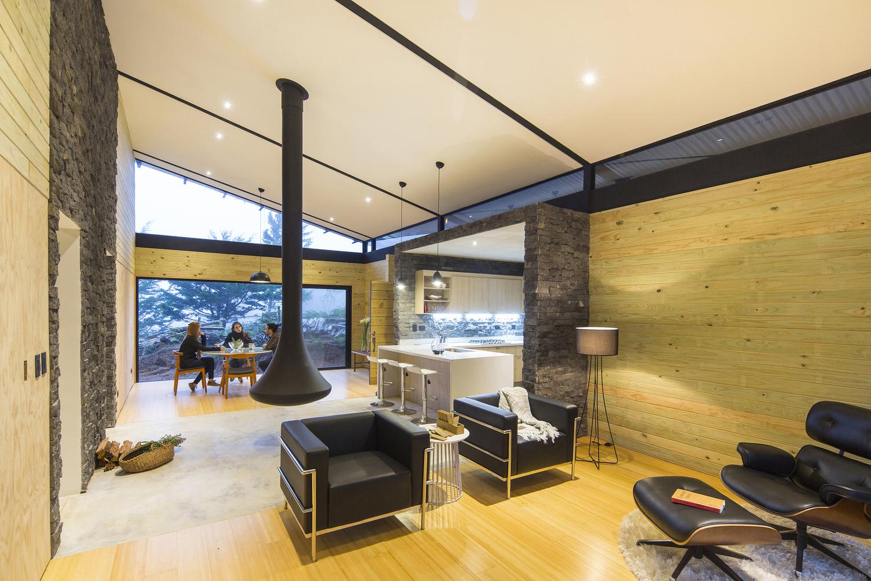 Void Elegant Interior : EFC Cabin by VOID Architects - the vandallist (7)