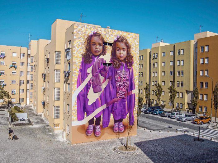 TELMO MIEL Duo creates TWO OF ONE KIND Mural - THE VANDALLIST (1)