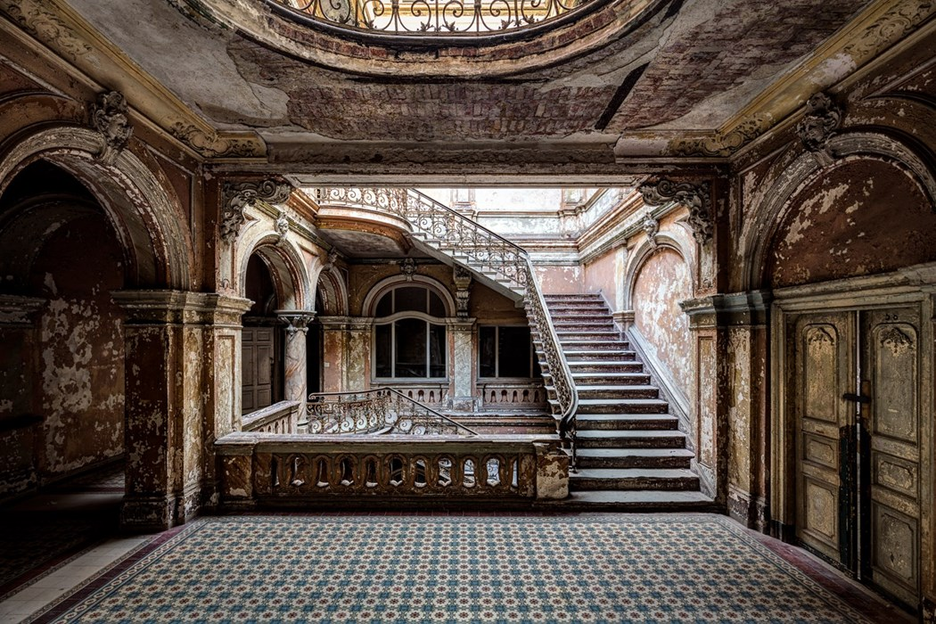 The art of exploring abandoned places photography by for Building photography
