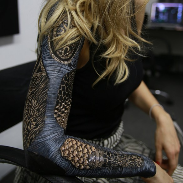 YUSK IMAI creates works of art on human bodies - the vandallist (1)