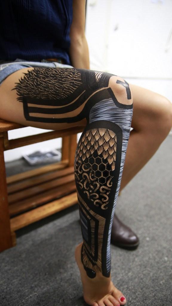 YUSK IMAI creates works of art on human bodies - the vandallist (7)