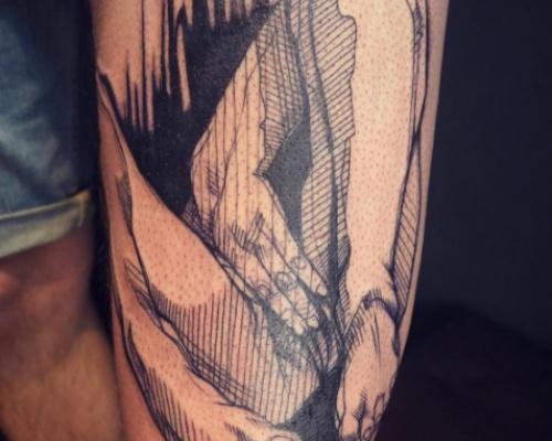Léa Nahon, tattoo artist