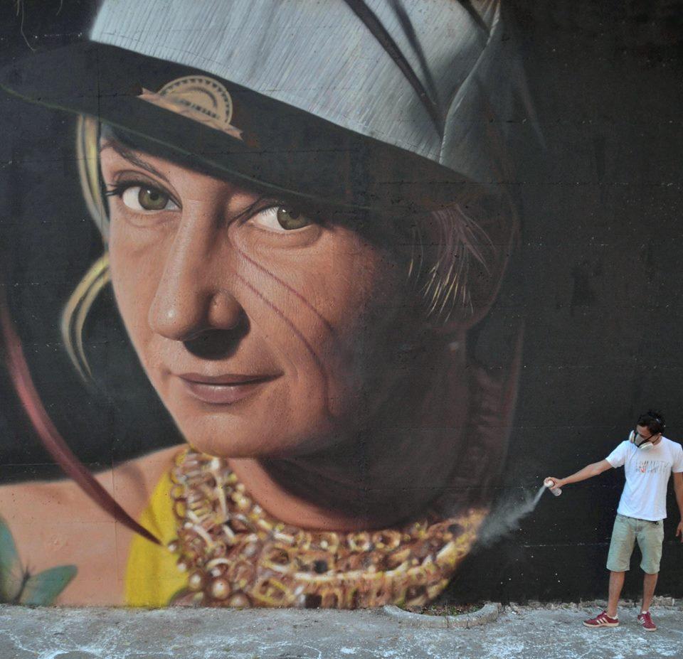 High standard street art - by JORIT AGOCH