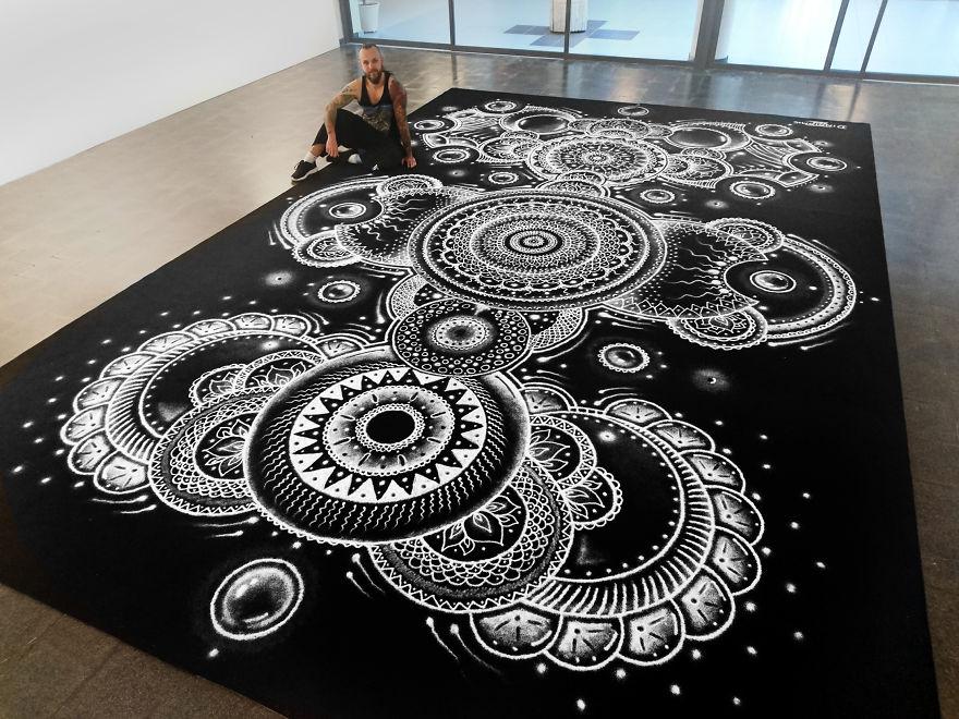 Kitchen Salt turned into Art - by DINO TOMIC