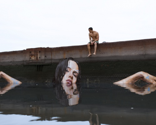 Take your paddle board and paint some murals – artist Sean Yoro
