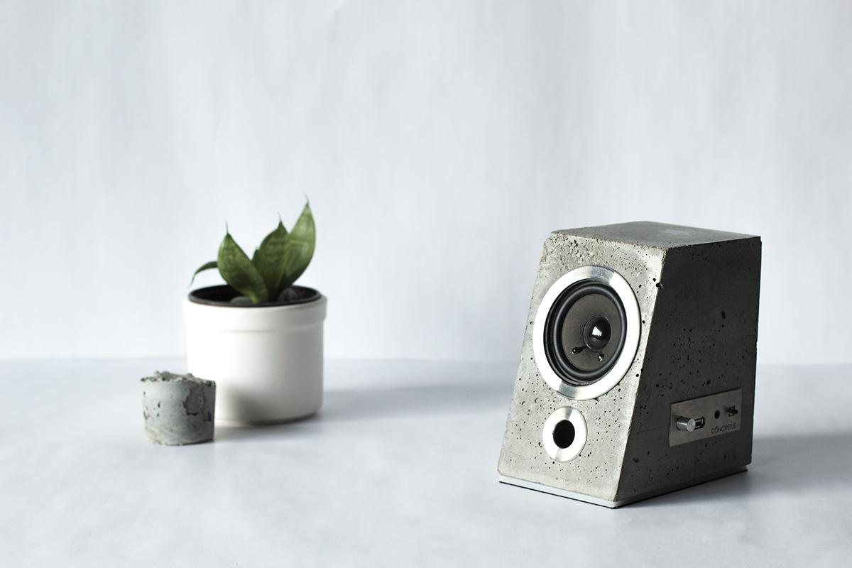 Concrete Bluetooth Sound System - the vandallist (1)