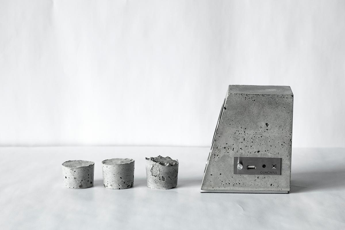 Concrete Bluetooth Sound System - the vandallist (3)