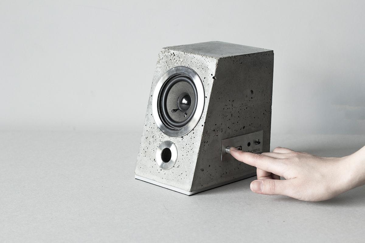 Concrete Bluetooth Sound System - the vandallist (5)