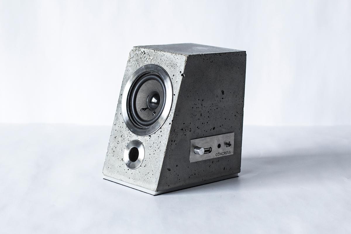 Concrete Bluetooth Sound System - the vandallist (8)