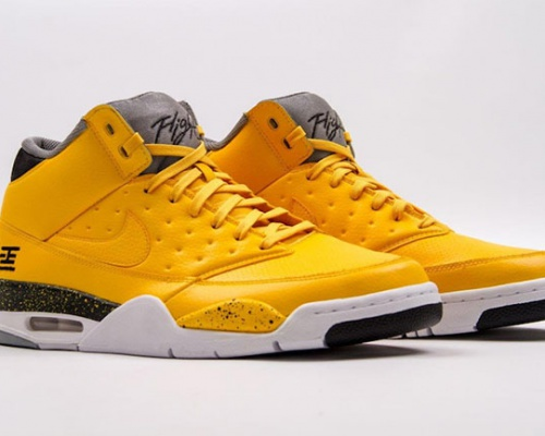 """NIKE Air Flight 89 """"TOKYO"""" – the hot yellow delight"""