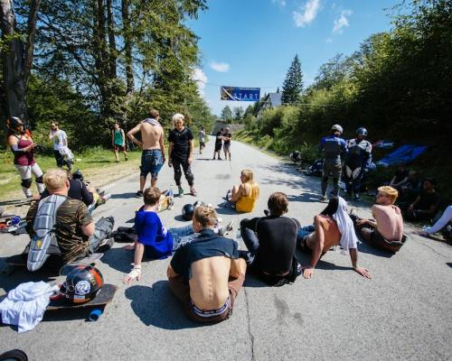 Romania's first Downhill by Devastation Longboard Crew