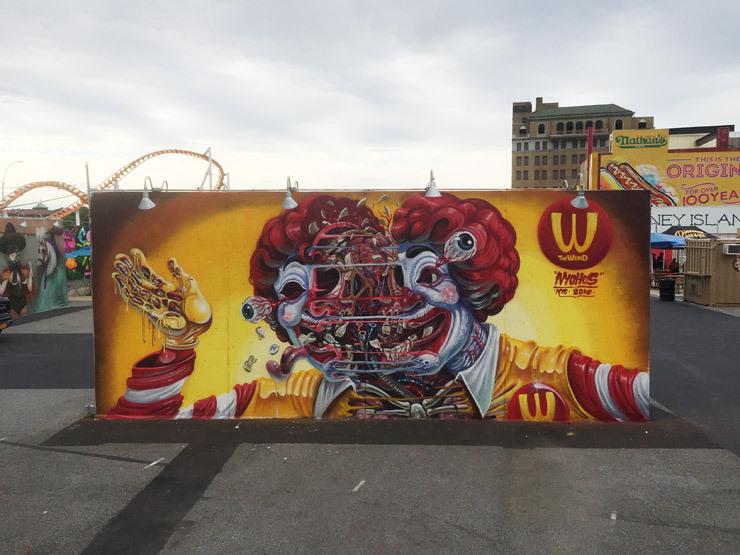 NYCHOS grafitti x Rabbit Eye Movement