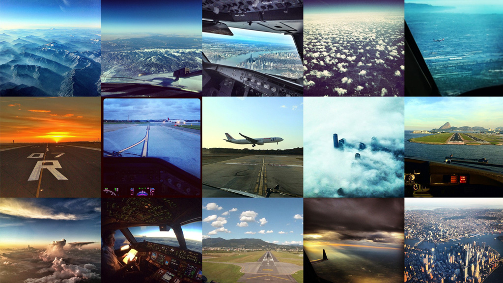 Stunning yet illegal photos - the pilots of Instagram