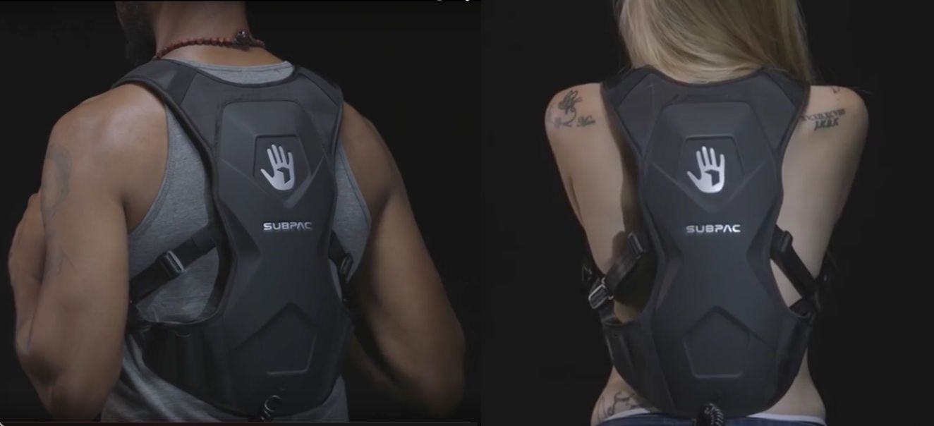 Let the vibes run through your body with SubPac