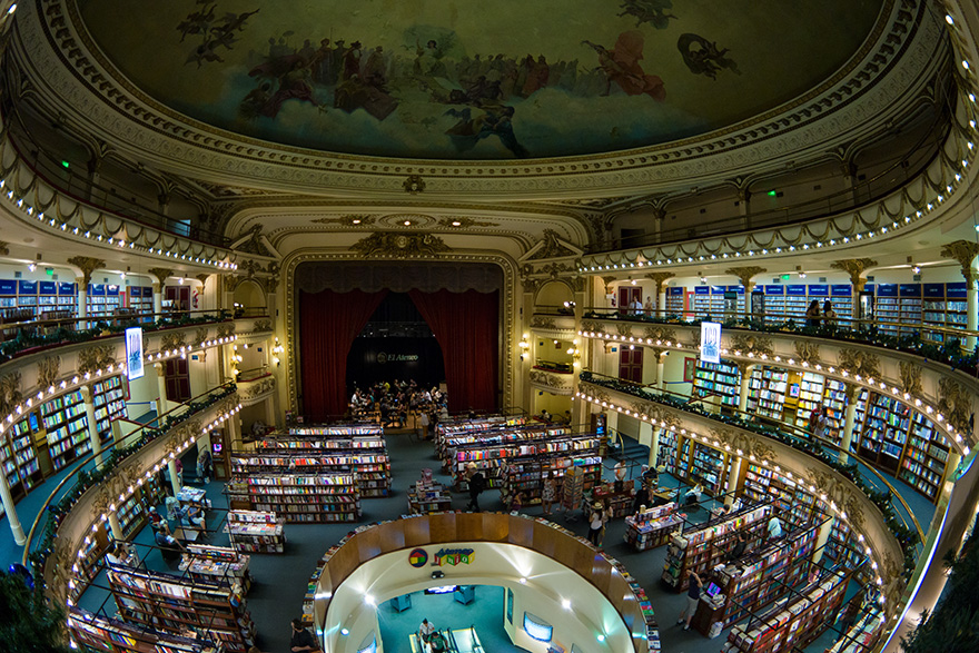 Theater or Bookstore? El Ateneo Grand Splendid, Buenos Aires