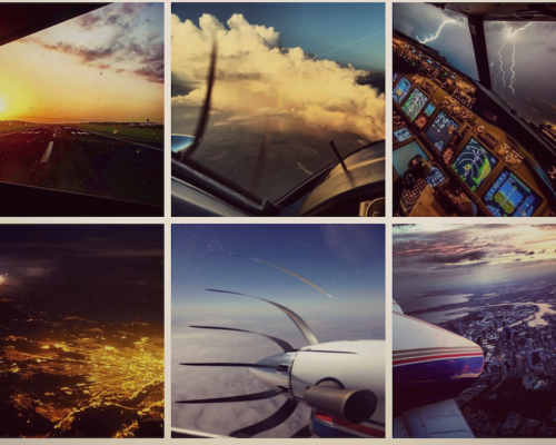 Stunning yet illegal photos – the pilots of Instagram