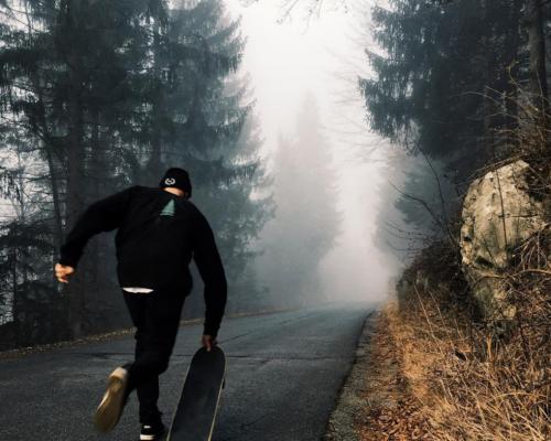 Skateboarding x photography by ANZE OSTERMAN