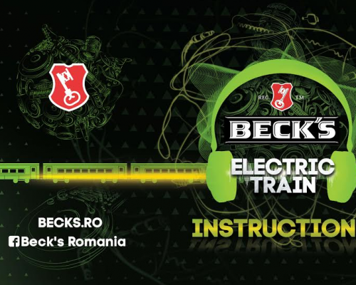 ELECTRIC CASTLE: Beck's anunță trenul muzical Electric Train
