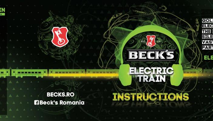 ELECTRIC CASTLE: Beck's anunță trenul muzical Electric Train