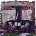 Check out this mural by PENAO in Barcelona