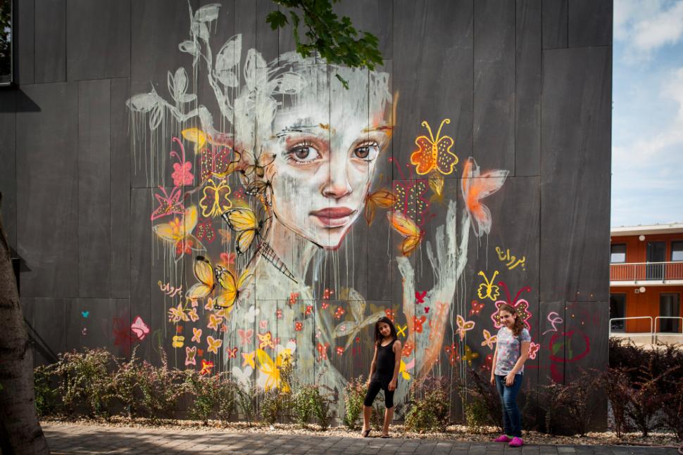 Social project in Potsdam, Germany - by HERAKUT