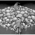 Surreal scenes by Spanish street artist KOB