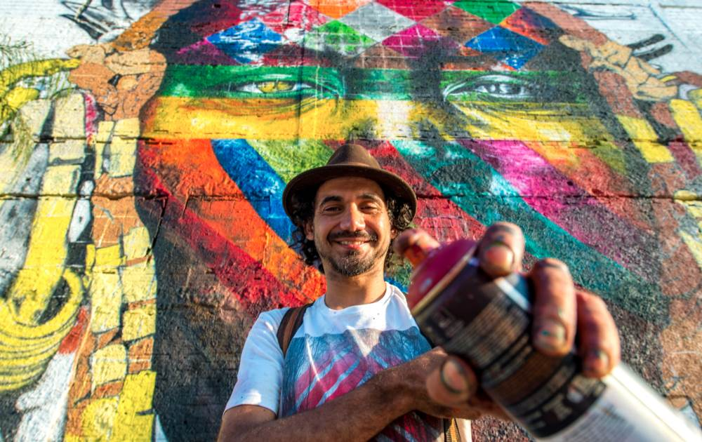 Huge Mural Unveiled in Rio by Eduardo Kobra - the vandallist (1)