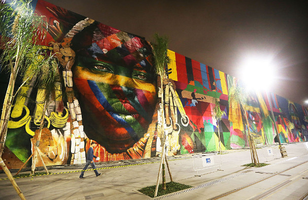 <> on July 20, 2016 in Rio de Janeiro, Brazil.