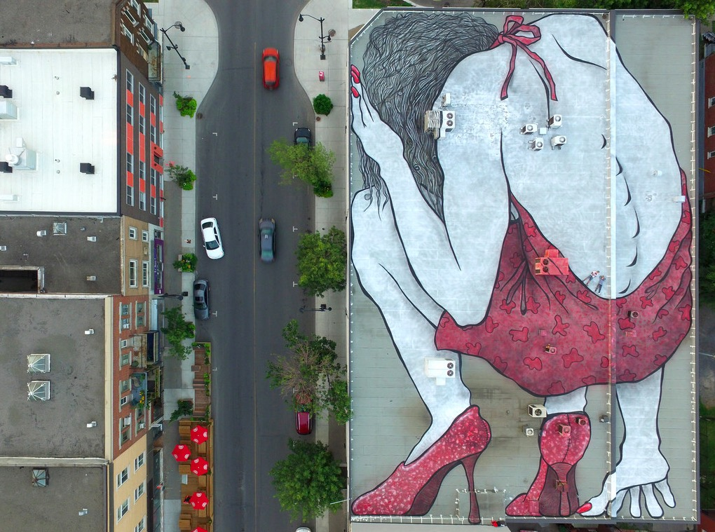 Sleeping giants by Ella & Pitr in Montreal, Canada - the vandallist (1)