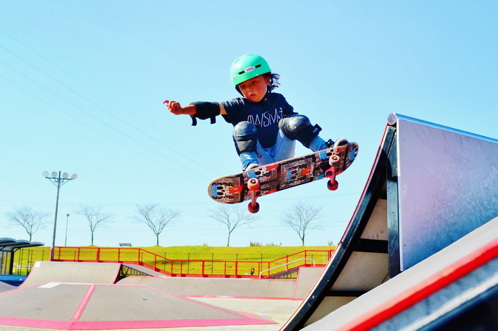 Sky Brown - the youngest female to skate the Vans US Open Pro Series