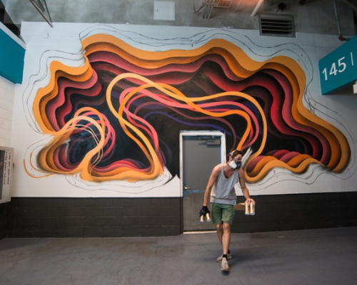 Miami Dolphins & the Secret Street Mural Project