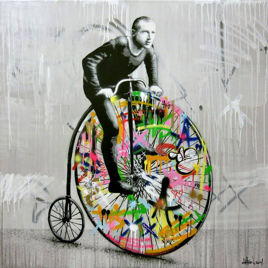 Colorful Norwegian graffiti - by Martin Whatson