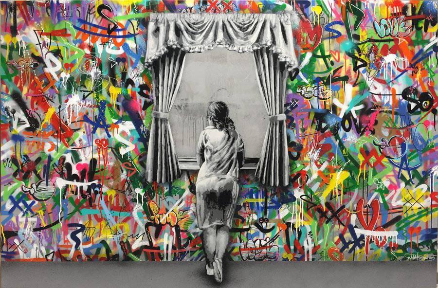 Colorful Norwegian graffiti - by Martin Whatson