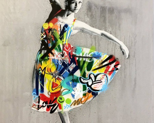 Colorful Norwegian graffiti – by Martin Whatson