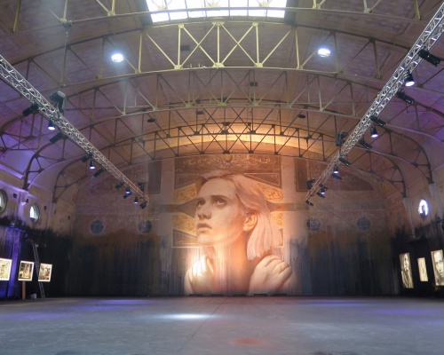 "RONE's ""Empty"" exhibition in Melbourne"