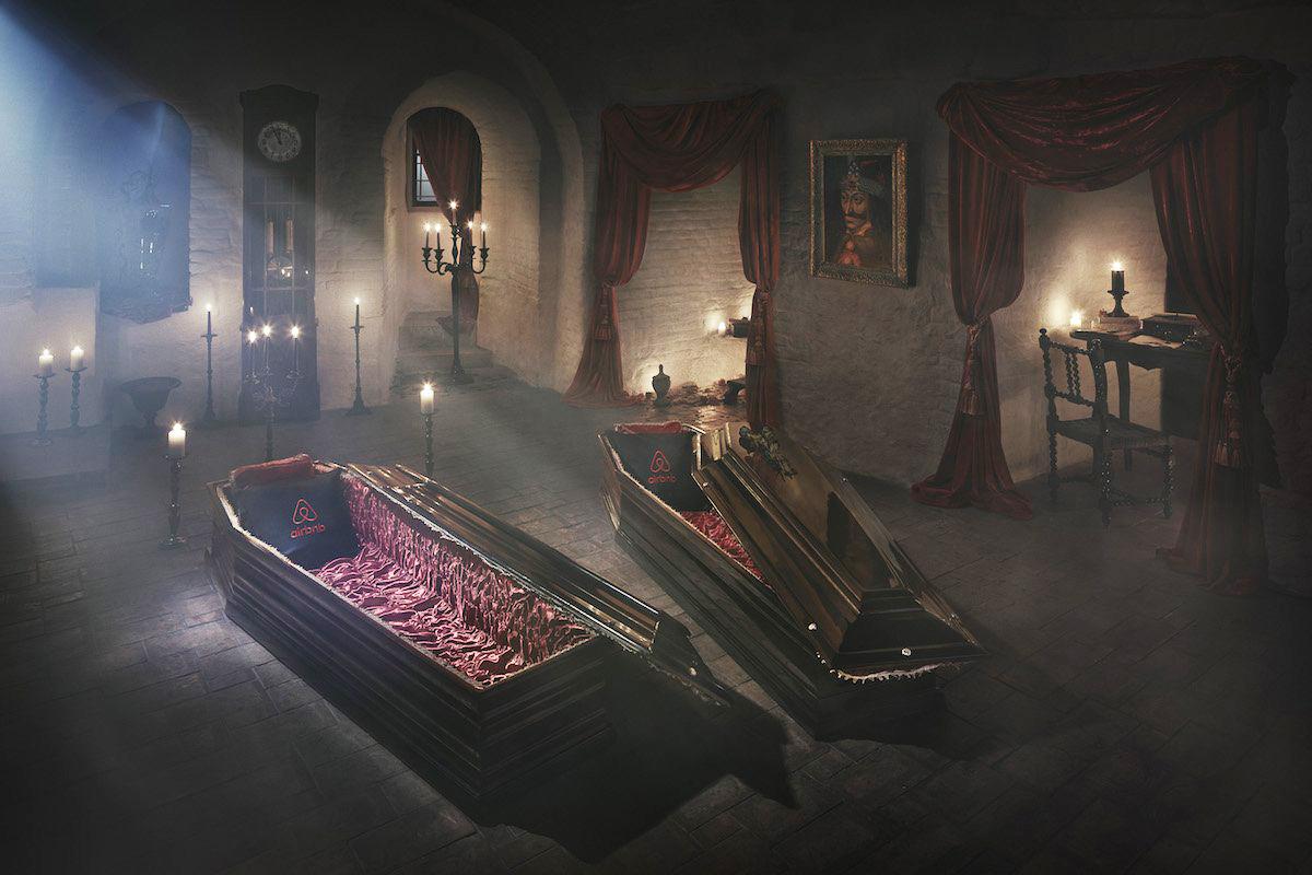 Bran Castle, Transylvania on Airbnb for Halloween