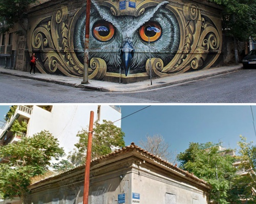 Before x After Street Art Transformations