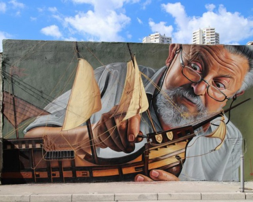 """Nitpicking"" – by LONAC @Rijeka, Croatia"