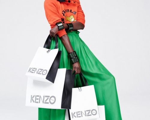 Kenzo x H&M official Lookbook