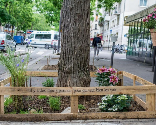 Urban gardens in Paris – There are flowers everywhere for those who really want to see them