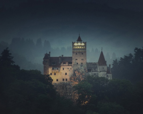 Bran Castle, Transylvania on Airbnb for Halloween