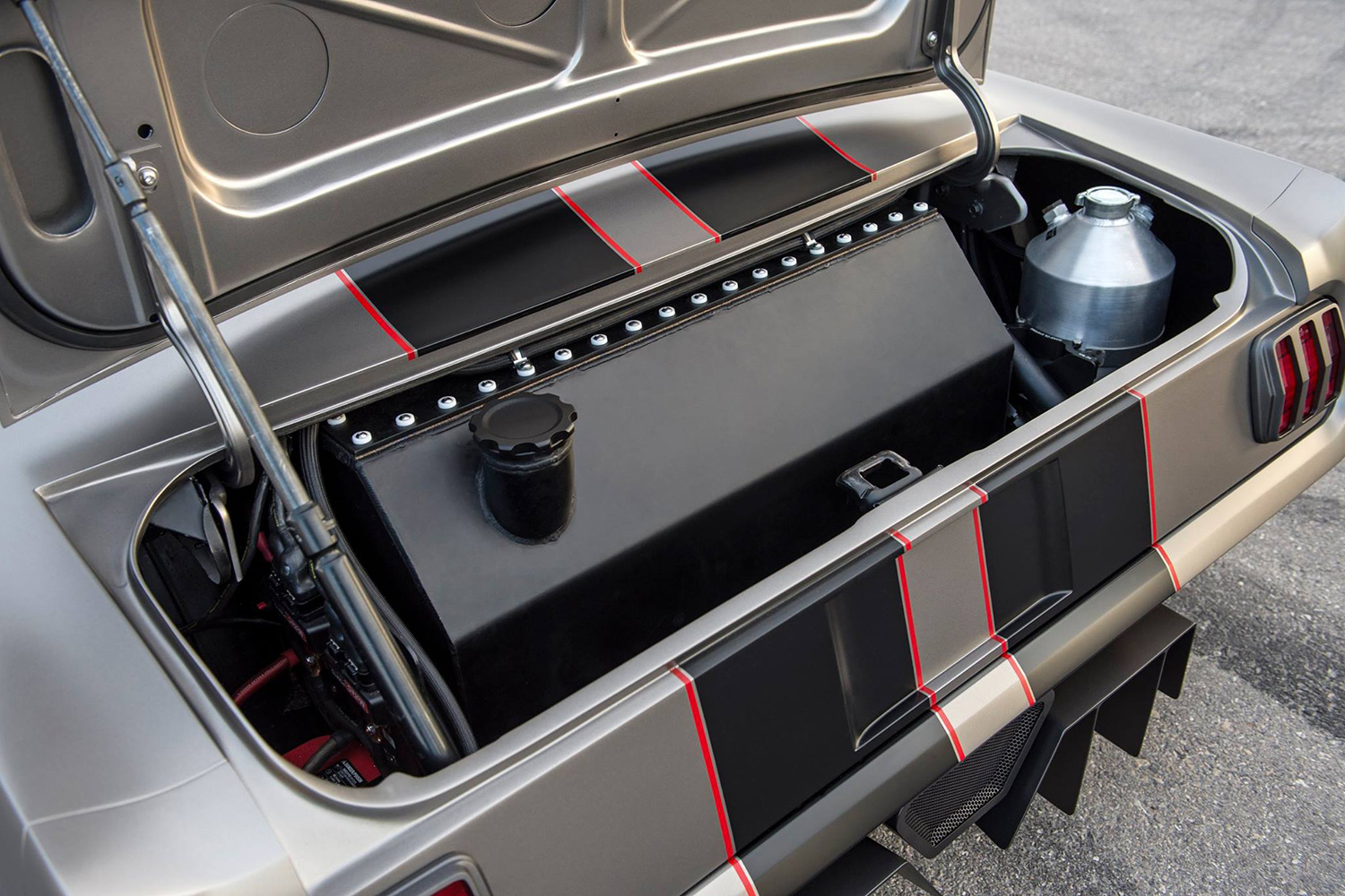 Timeless Kustoms Turns 1965 Ford Mustang into Vicious 1,000 HP @SEMA 2016
