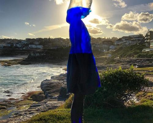 The translucent sculpture of Bondi Beach