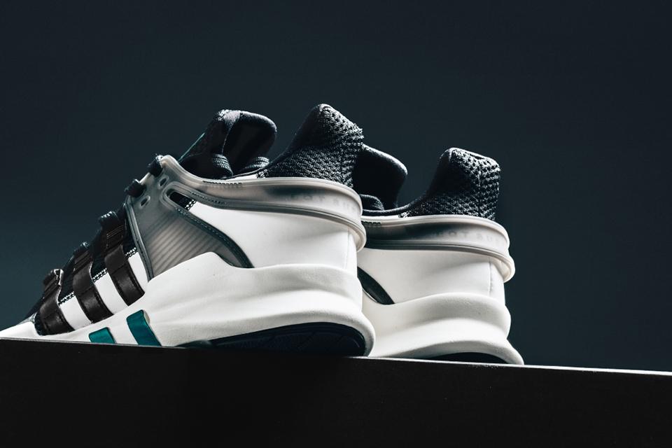 """adidas Originals' EQT Support ADV """"Core Black/Sub Green"""""""