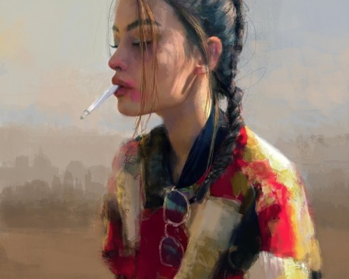 Ivana Besevic impressive digital portraits