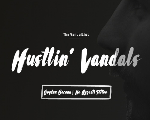 Hustlin' Vandals: Bacanu Bogdan | No Regrets Tattoo